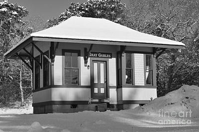 Gray Gables Train Station Print by Catherine Reusch  Daley