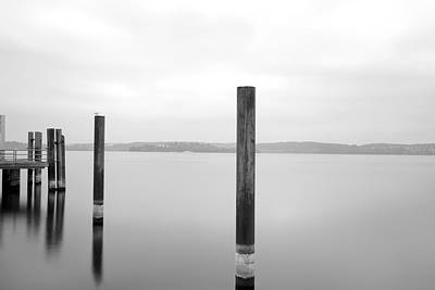 Photograph - Gray Peaceful Day by Marc Huebner