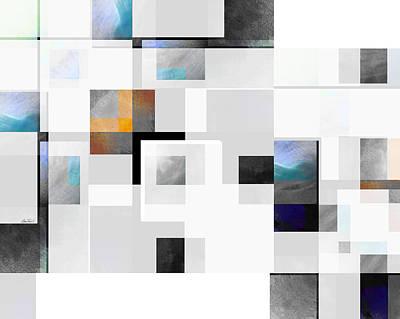Digital Art - Gray Series Ten - Abstract - Art by Ann Powell