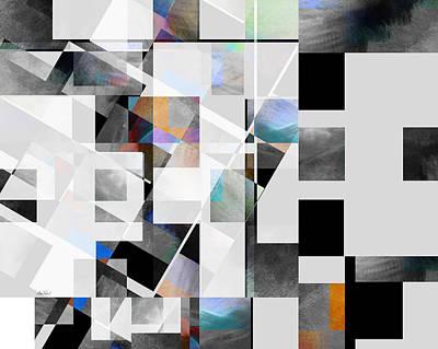 Digital Art - Gray Series Twelve - Abstract Art by Ann Powell