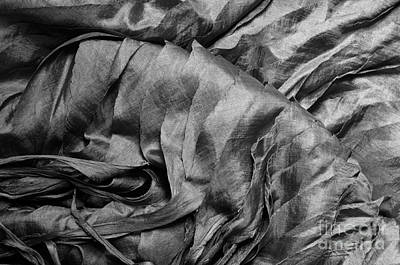 Photograph - Gray Silk 01 by Rick Piper Photography