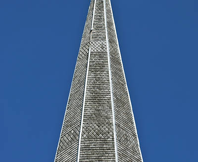 Photograph - Gray Steeple by Christi Kraft