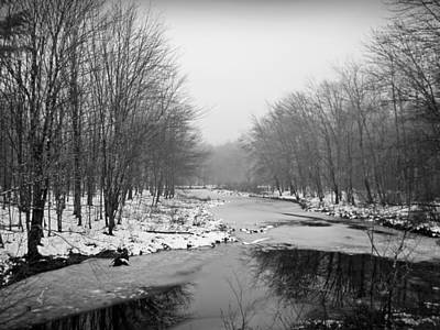 Photograph - Gray Stream by MTBobbins Photography