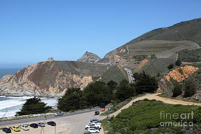 Gray Whale Cove State Beach Montara California 5d22614 Art Print by Wingsdomain Art and Photography