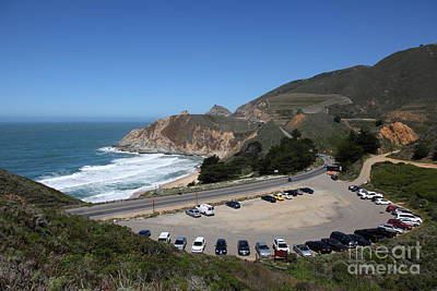 Gray Whale Cove State Beach Montara California 5d22616 Art Print by Wingsdomain Art and Photography