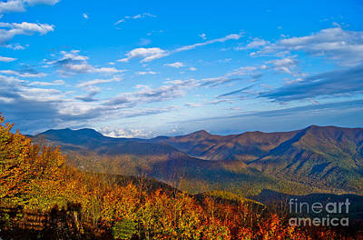 Art Print featuring the photograph Graybeards Mountain by Debra Crank