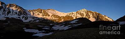 Grays Peak And Torreys Peak Panorama Art Print by Benjamin Reed