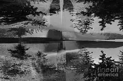 Digital Art - Grayscale Vision Trip by Steven Murphy