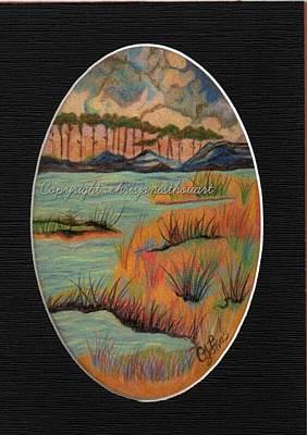 Drawing - Grayton Beach Mini by Chris Bajon Jones