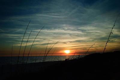 Photograph - Grayton Beach Sunset 1 by George Taylor