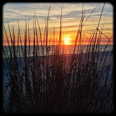 Photograph - Grayton Beach Sunset 2 by George Taylor