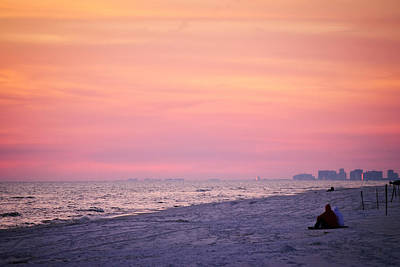 Photograph - Grayton Beach Sunset 5 by George Taylor