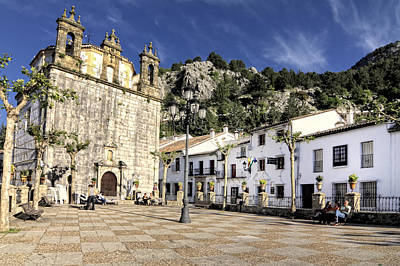 Grazalema Town Hall Square Art Print