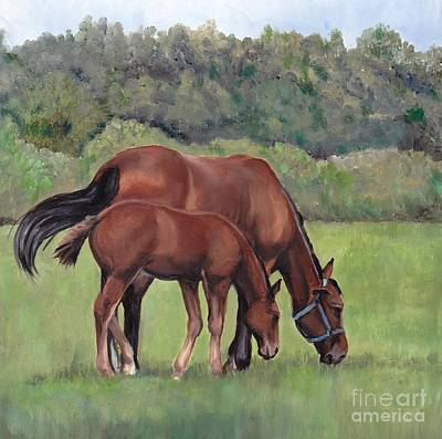 Painting - Grazing by Charlotte Yealey