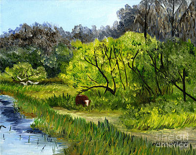 Painting - Grazing In The Marshes by Maria Williams