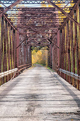 Photograph - Greasy Bend River Bridge by Victor Culpepper