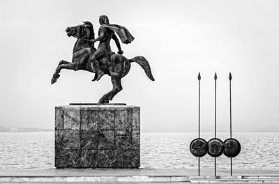 The Dark Knight Photograph - Great Alexander Greece by Sotiris Filippou