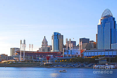 Photograph - Great American Ball Park by Mary Carol Story