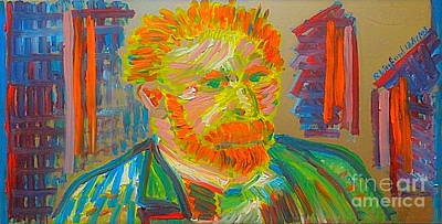 Painting - Great Artist Vincent Van Gogh 10 by Richard W Linford