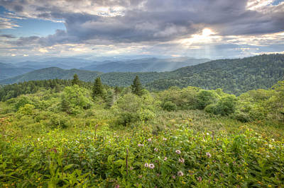 Photograph - Great Balsam Mountains by Doug McPherson