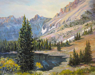 Painting - Great Basin Nevada by Donna Tucker