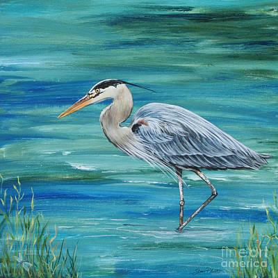 Great Blue Heron-1a Original
