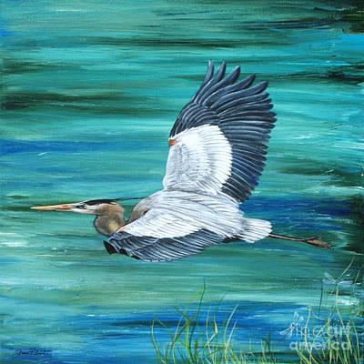 Great Blue Heron-3a Original