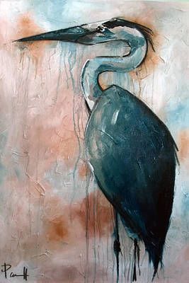 Painting - Great Blue Heron by Sean Parnell