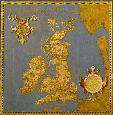 Painting - Great Britain And Ireland by Egnazio Danti