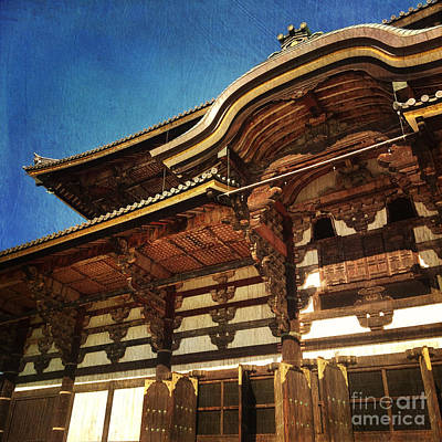 Photograph - Great Buddha Hall In Todai-ji Nara Japan by Beverly Claire Kaiya