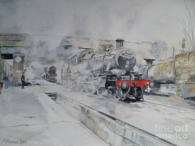 0 Painting - Great Central Steam by Martin Howard