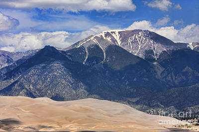 Photograph - Great Colorado Sand Dunes 125 by James BO  Insogna