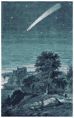 1811 Photograph - Great Comet Of 1811 by Detlev Van Ravenswaay