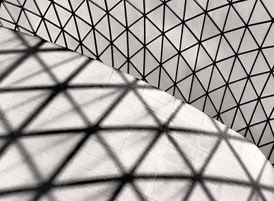 Photograph - Great Court Abstract by Rona Black