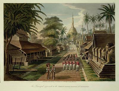 Great Dagon Pagoda Art Print by British Library