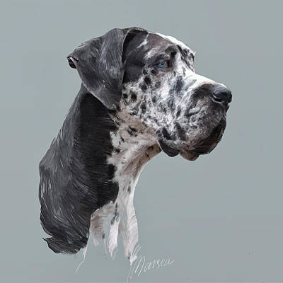 Great Dane Original by Marina Likholat