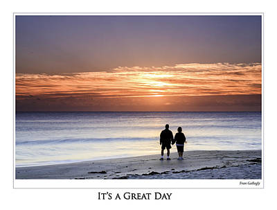 Photograph - Great Day Poster by Fran Gallogly