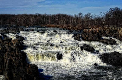 Photograph - Great Falls by Cathy Shiflett