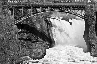 Photograph - Great Falls In Paterson Nj by Anthony Sacco