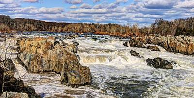 Photograph - Great Falls by JC Findley