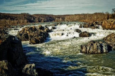 Photograph - Great Falls Of The Potomac by Cathy Shiflett