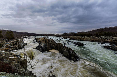 Photograph - Great Falls by Randy Scherkenbach