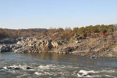 Rocks Photograph - Great Falls Va - 121245 by DC Photographer