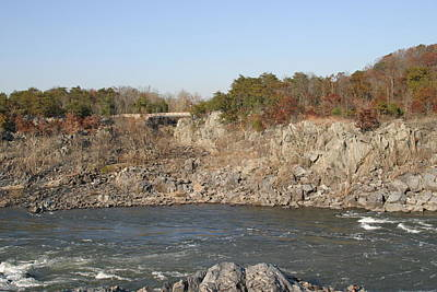 Great Falls Va - 121246 Art Print by DC Photographer