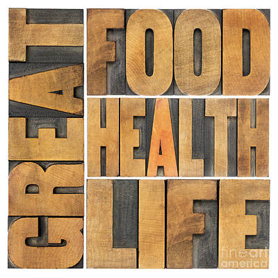 Great Food  Health And Life Art Print