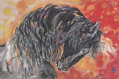Great Fresian Art Print by Mary Armstrong
