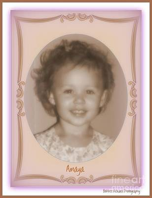 Photograph - Great Grandaughter by Bobbee Rickard
