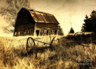 Photograph - Great Grandfather's Barn II by Lori Dobbs