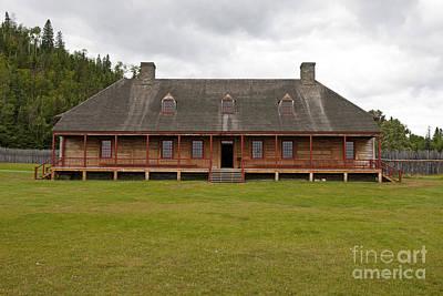 Unicorn Dust - Great Hall Grand Portage National Monument by Jason O Watson