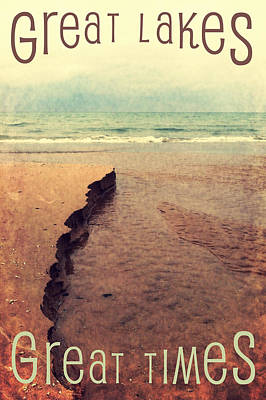 Photograph - Great Lakes Great Times by Michelle Calkins